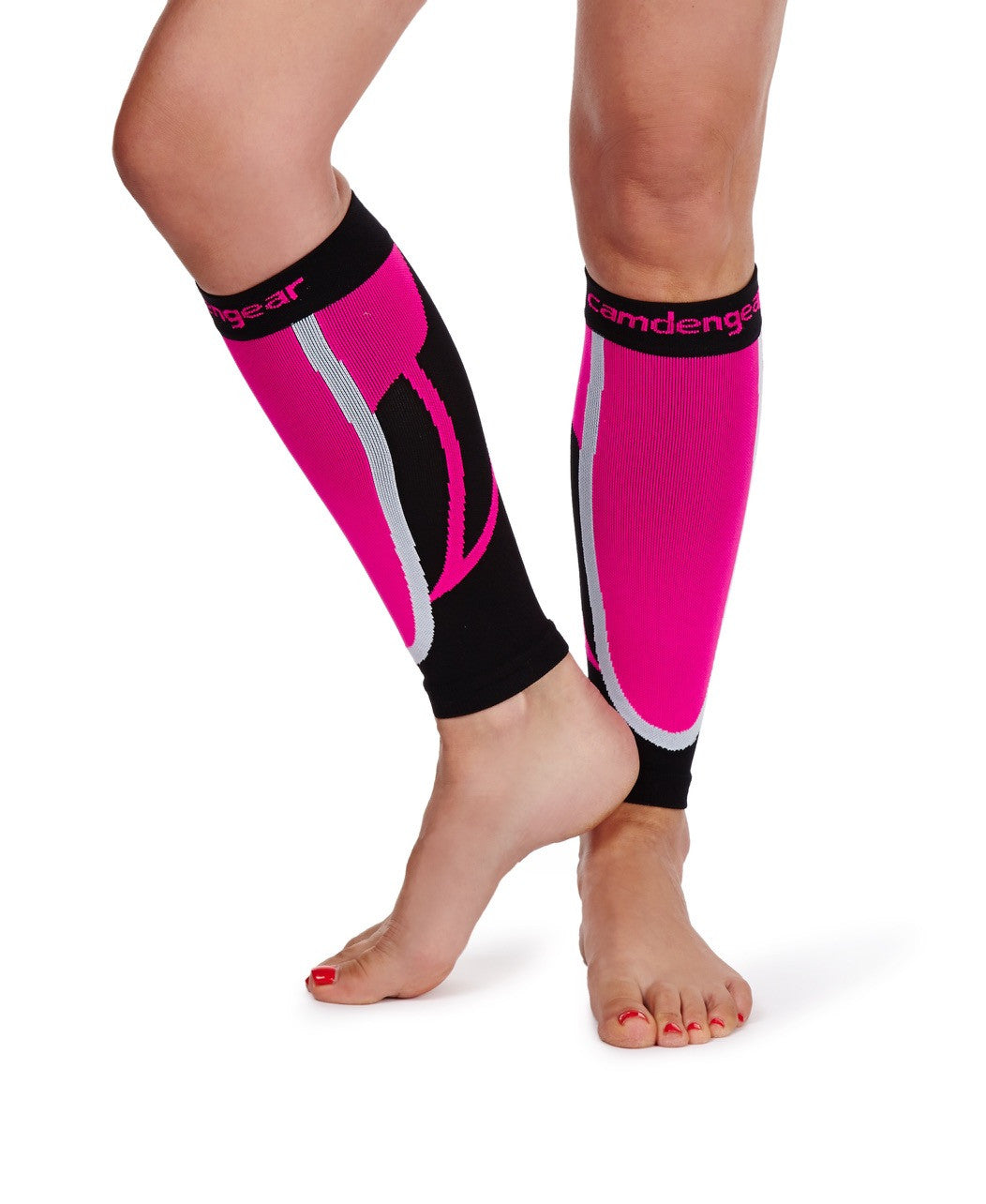 Calf Compression Sleeve - Pink