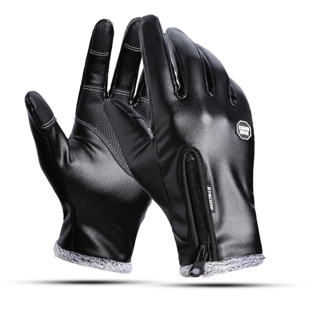 Weatherproof Leather Gloves