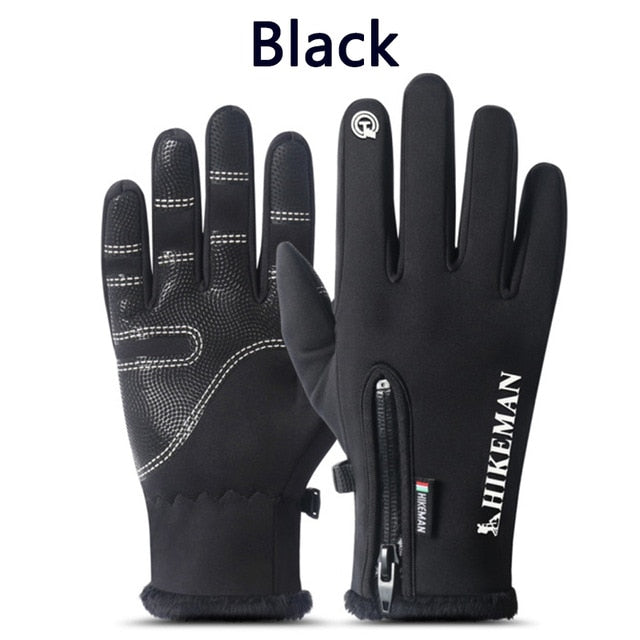 Windproof Weatherproof Touchscreen Gloves