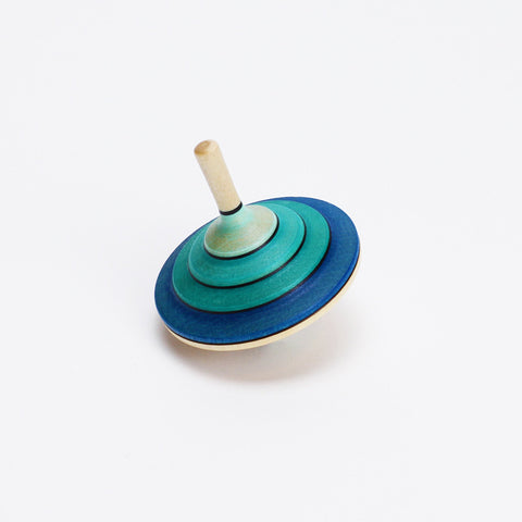 Blue Flamenco Spinning Top