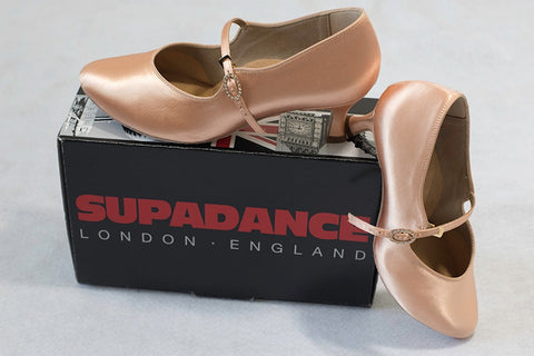 Supadance  tan competition shoes