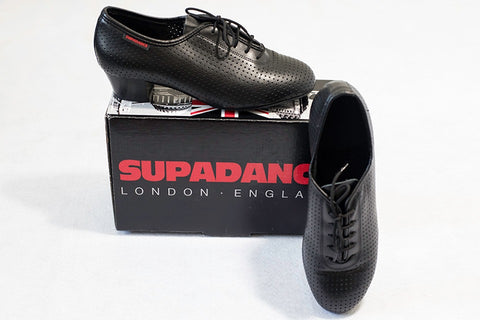 Black Supadance practice shoes - new