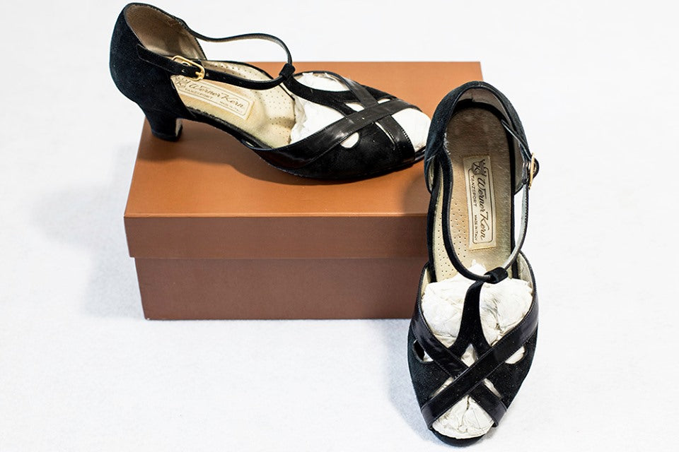 Warner Kern Latin Competition shoes - used