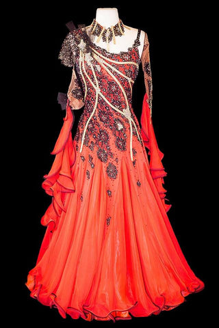 Danscouture Red Gown