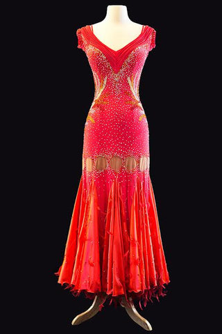 Dore Coral Gown