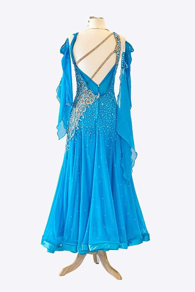 Blue Smooth/Standard Gown