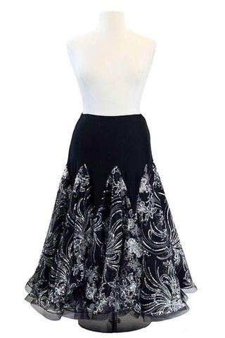 Black sequined skirt (For Rent)