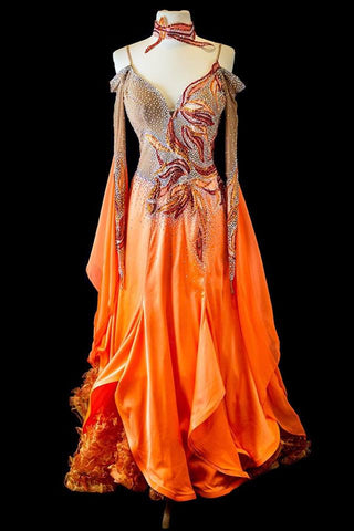 RS Atelier Orange Gown