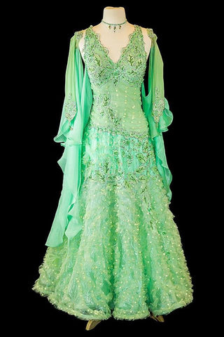 Sapiel Mint Green Gown