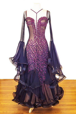 RS Atelier Black Gown
