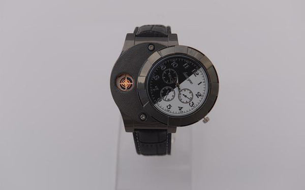 Electronic Lighter Quartz Watch-TrendUp Clothing