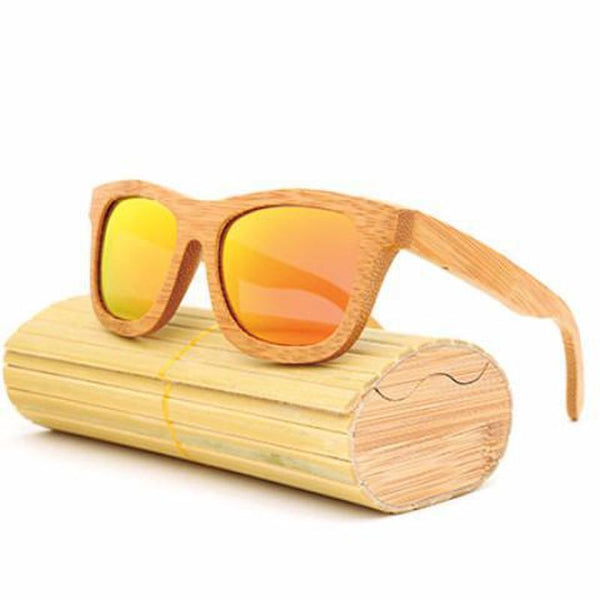 Handmade Bamboo Polarized Sunglasses-TrendUp Clothing