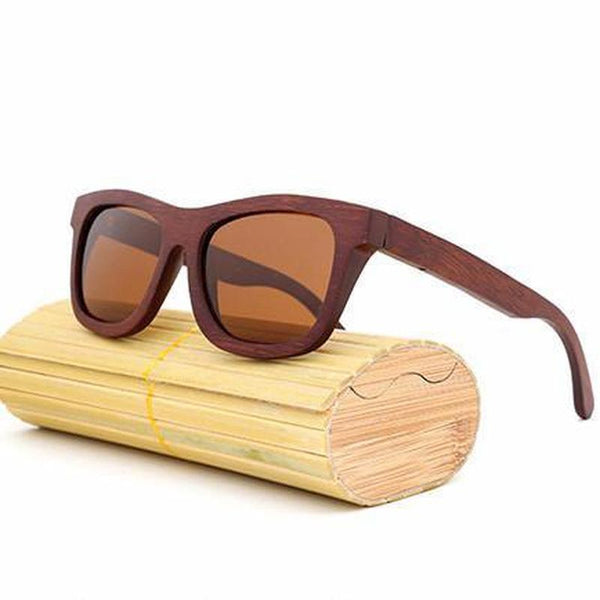 Handmade Bamboo Polarized Sunglasses - TrendUp Clothing
