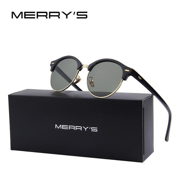 Marry's Retro Rivet Polarized Sunglasses-TrendUp Clothing