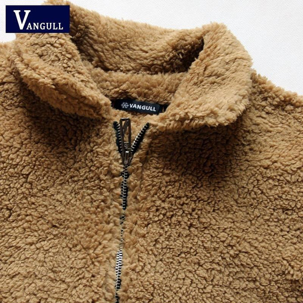 Vangull Faux Fur - Fluffy & Shaggy Winter Coat-TrendUp Clothing