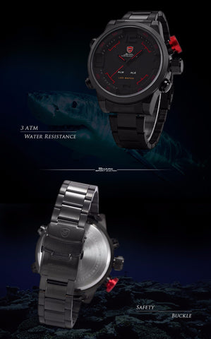 Shark Watch front and back