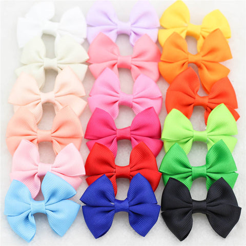 Multicolour Ribbon Hair Clip Pack (30x)
