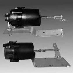 "Actuator: 3""x3"", 5-10 PSI, Post Mount"