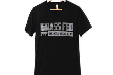 Black Grass-Fed Tee