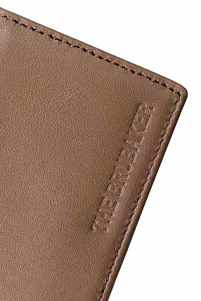 The Leather Wallet Marrón