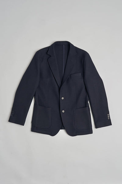 The wool blazer marino