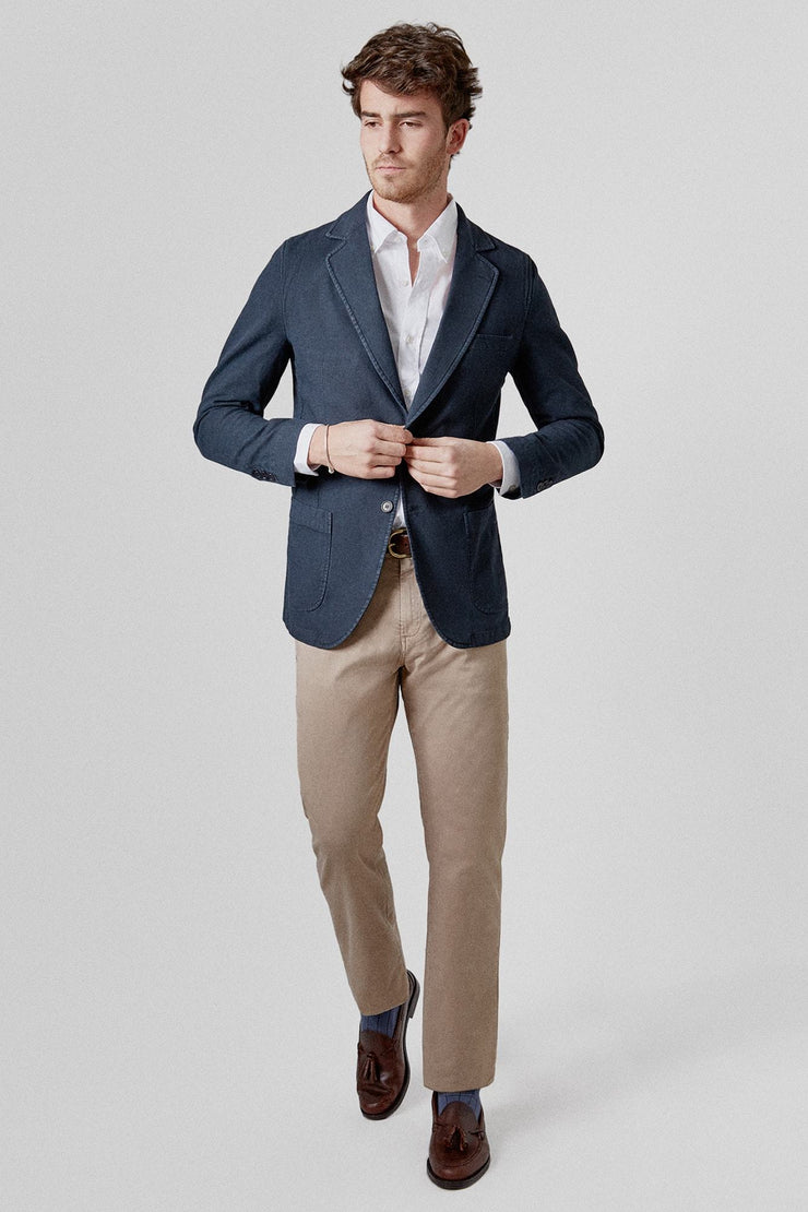 The Smart Blazer azul marino