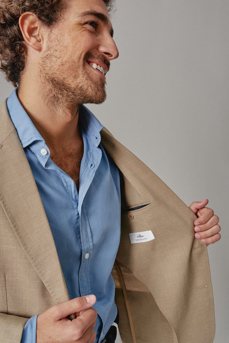 The spring blazer Camel