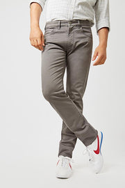 The 5 pocket gris Antracita Regular Fit