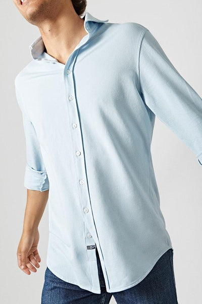 The Cotton Light Camisa Azul Calima