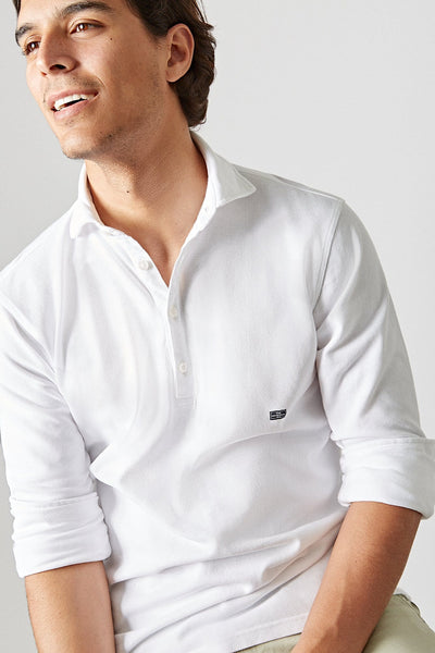 The cotton polera blanco Nerja