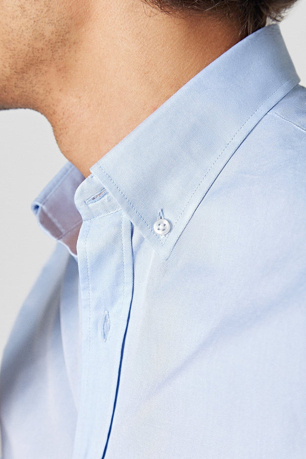 The Oxford Azul Bolsillo Regular Fit