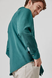 The cotton Camisa Verde Cazorla