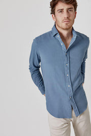 The Cotton Camisa Azul Fornells