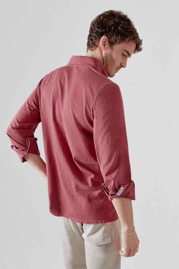 The Cotton Flat Polera Frambuesa