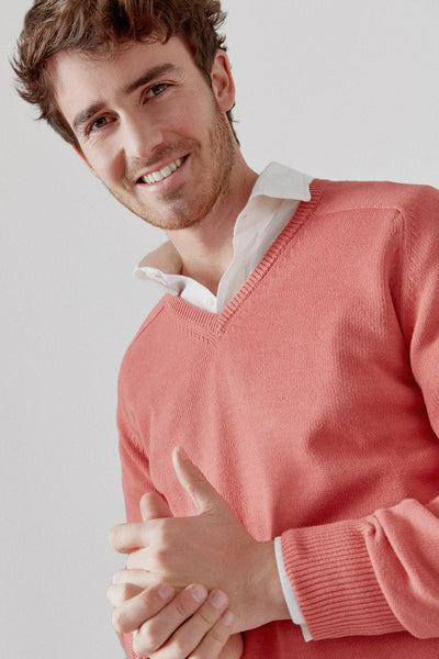 The Cotton Sweater Pico Rosa