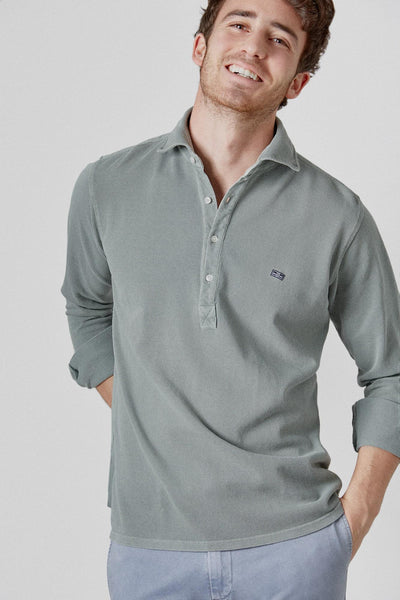 The Cotton Polera Verde Kakhi