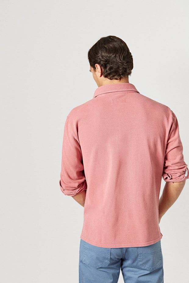 The Cotton Polera Grana Timanfaya