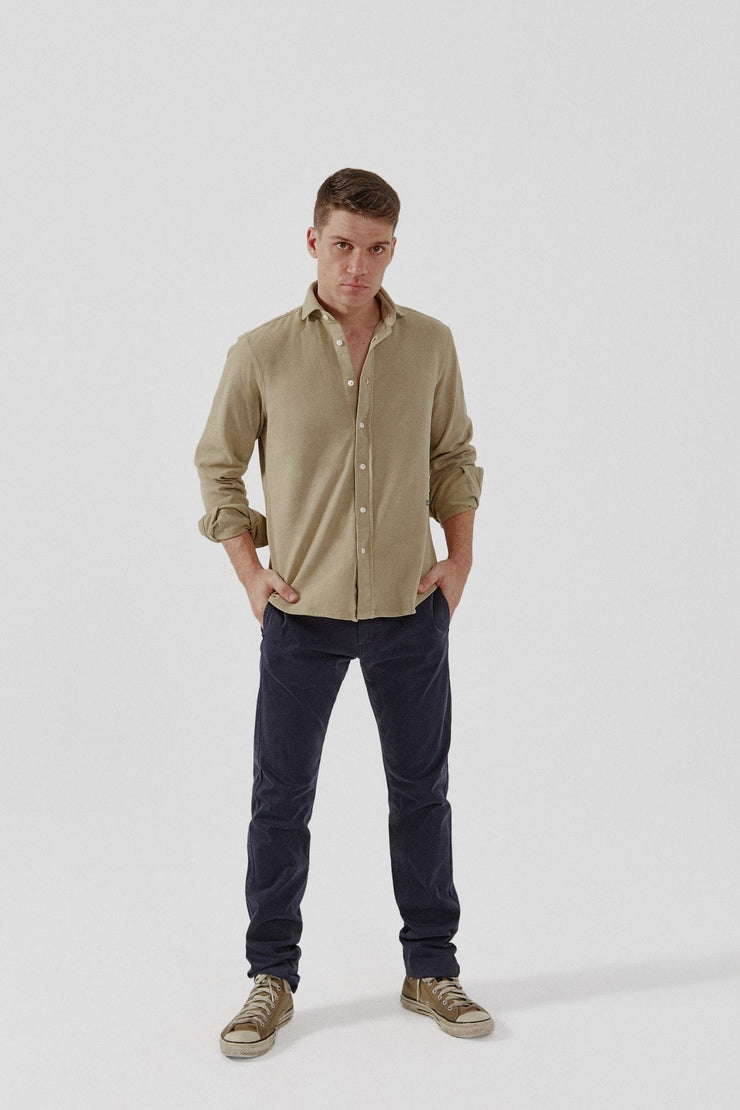 The Cotton Camisa Beige Monegros