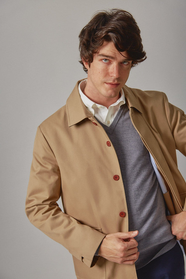 The spring trench camel