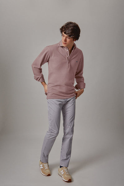 The cotton polera rosa Valladolid