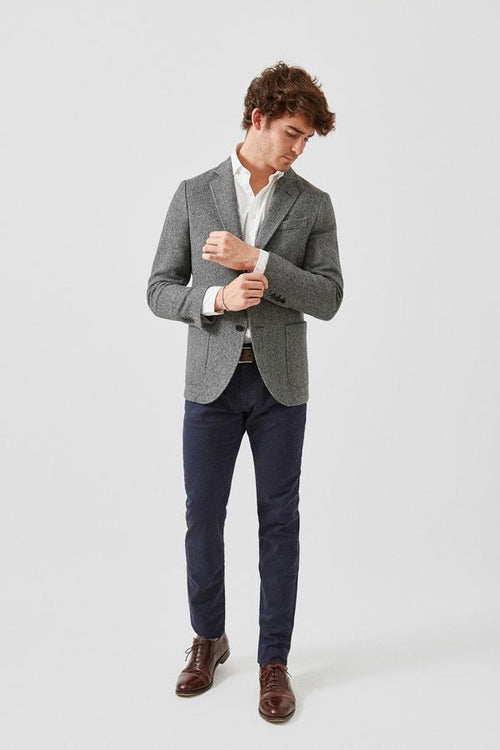 The Blazer Espiga Gris