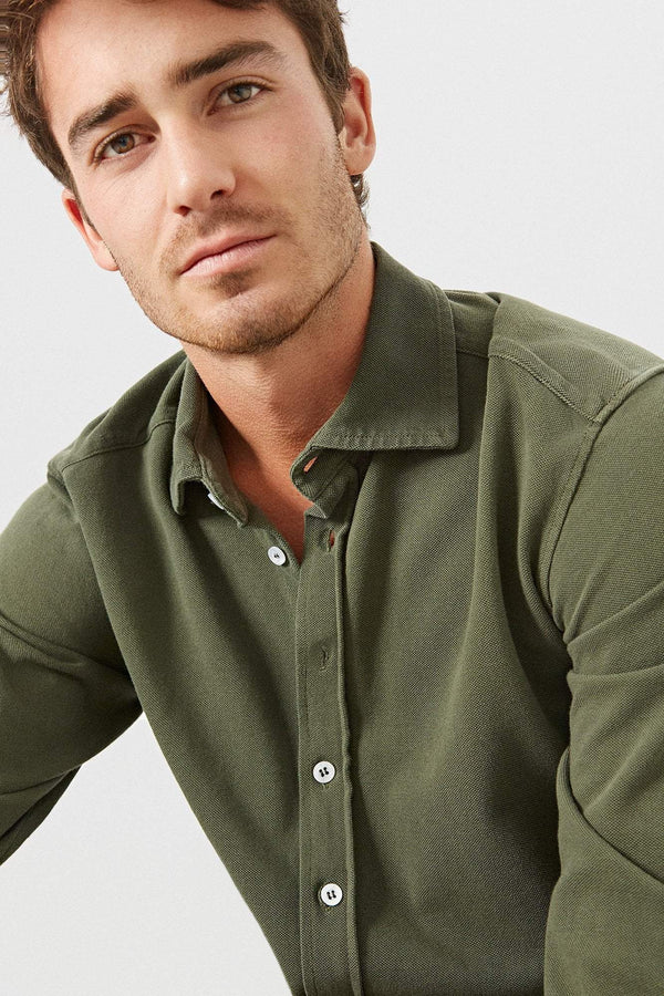 The Cotton Camisa Militar