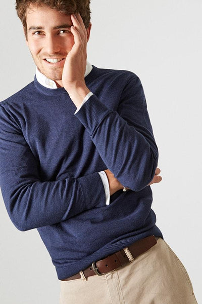 The merino redondo marino Navy