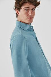 The cotton Camisa Azul Tarifa
