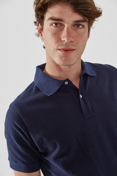 The Cotton Polo Azul Almirante