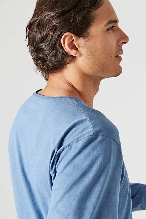 The Cotton T-Shirt Azul Izalco