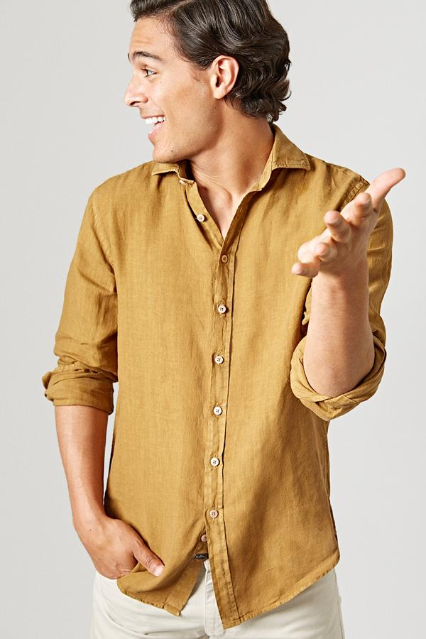The Lino Camisa Agave