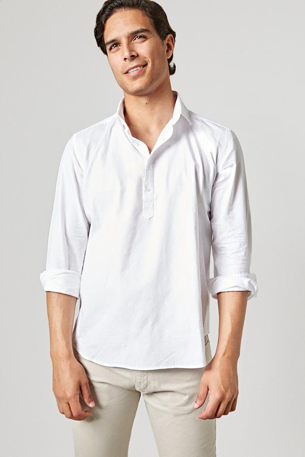 The Oxford Polera Blanca