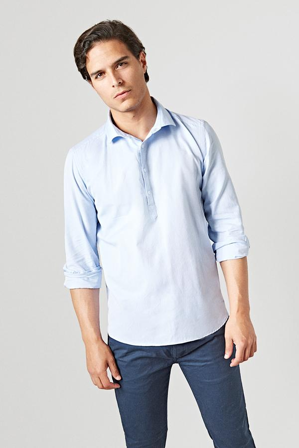 The Oxford Polera Azul