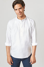 The Oxford Polera Mao Blanca